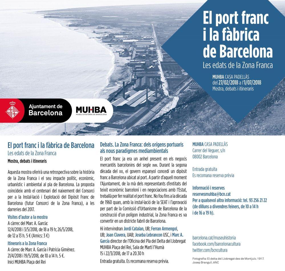 MUHBA El port franc i la fàbrica de Barcelona. Les edats de la Zona Franca