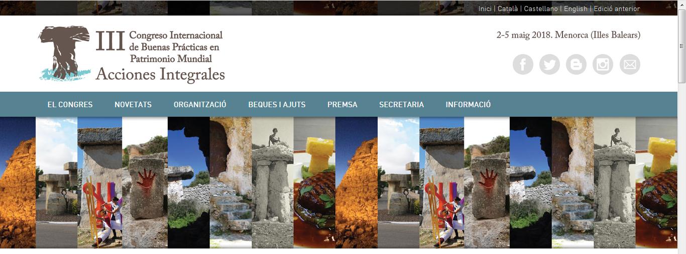 III Congrés de Bones Pràctiques en Patrimoni Mundial