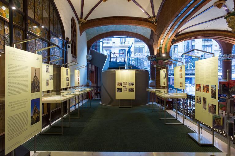 Exposició: La construcció del Palau de la Música Catalana i la seva preservació. 110 anys d'història (1908-2018)