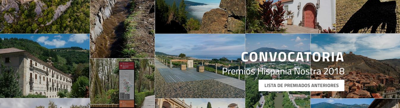 Premios Hispania Nostra a las Buenas Prácticas en el ámbito del Patrimonio Cultural y Natural 2018