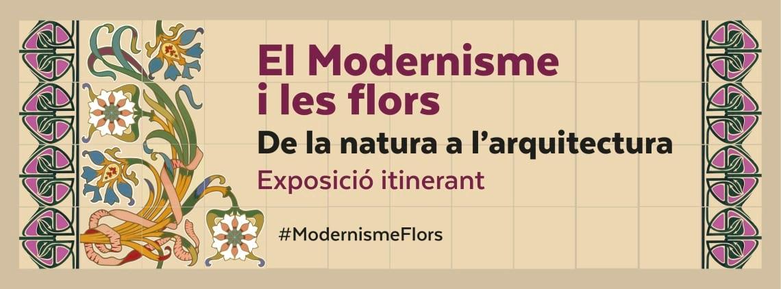 Exposició El Modernisme i les flors: de la natura a l'arquitectura