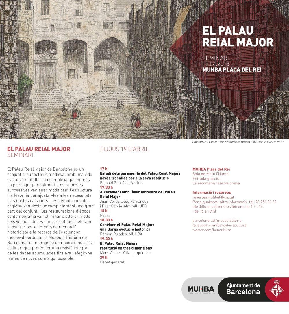 MUHBA: El Palau Reial Major, seminari