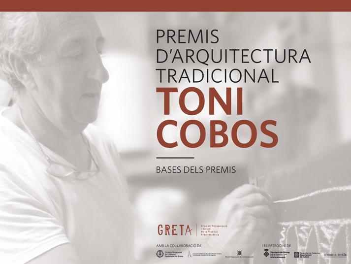 PREMIS D'ARQUITECTURA TRADICIONAL TONI COBOS: s'allarga el termini d'inscripció
