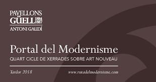 """IV Cicle de conferències """"Portal del Modernisme"""""""