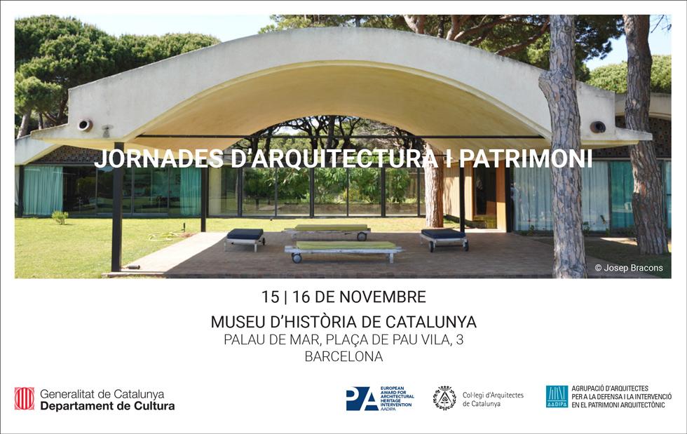 Presentació de la nova edició del Premi AADIPA en el marc de les Jornades d'Arquitectura i Patrimoni