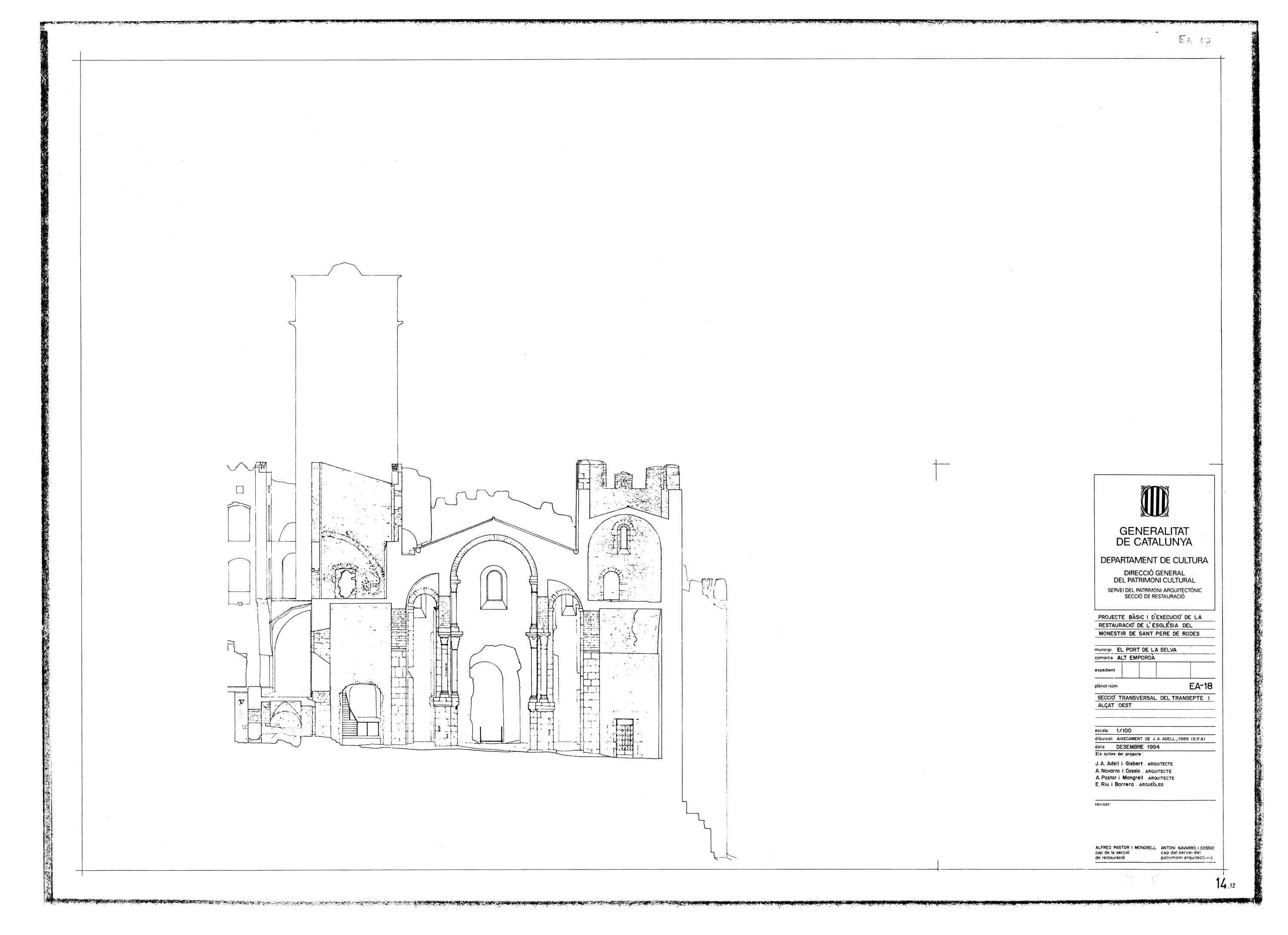 DOGC: Beques específiques Patrimoni arquitectònic