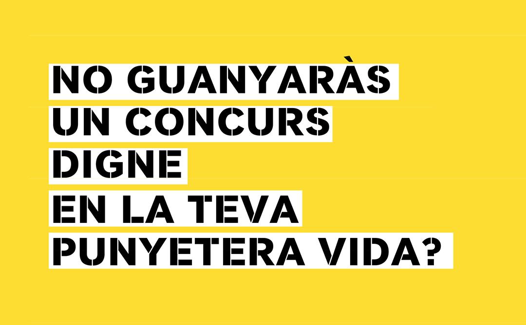 JORNADA DE DEBAT AL VOLTANT DELS CONCURSOS D'ARQUITECTURA
