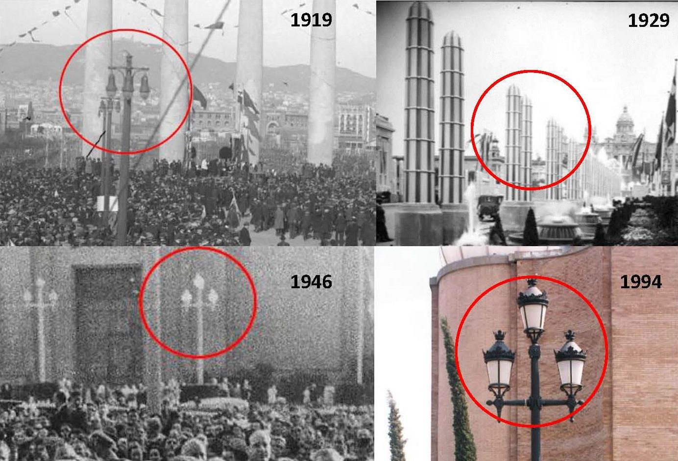 Informe sobre la renovació de les lluminàries de l'avinguda de Maria Cristina, dins el conjunt patrimonial de l'Exposició Internacional de Barcelona de 1929